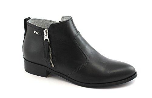 Boots Nero Giardini Ankle Black Zip Side Woman 05022 Nero Shoes ZqUwPn