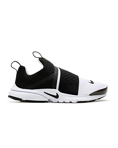 Nike Kids Presto Extreme GS, White / Black, Youth Size 6 by NIKE