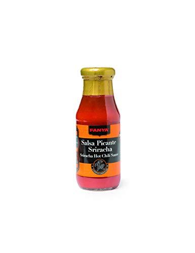 Fanya – Sriracha Hot Sauce (Hot Chili Pepper), glutenvrij – Ideaal voor pittige liefhebbers – 200 ml
