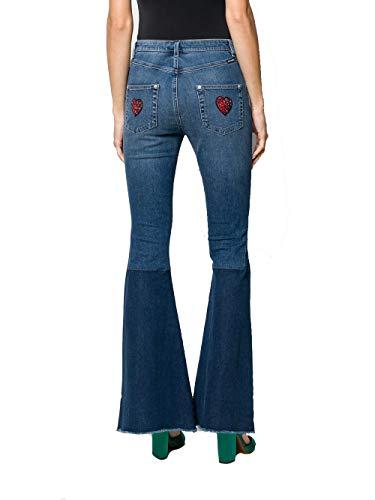 amp; Dolce Jeans Gabbana Donna Cotone Fta62zg890rb0665 Blu P4wPxdrqEy