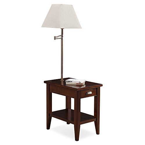 Leick 10537 Laurent Chairside lamp Table (Lamp Floor Table Tray)