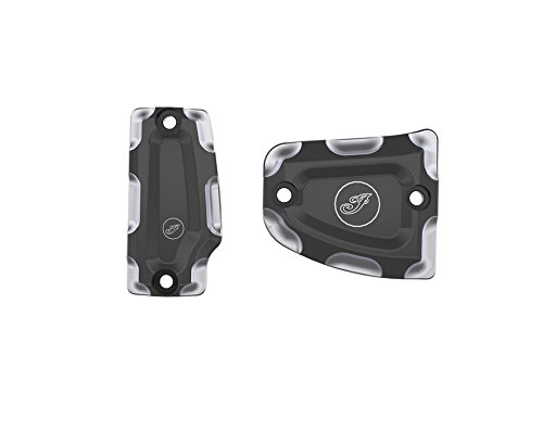 INDIAN SCOUT SIXTY BILLET FRONT MASTER CYLINDER COVERS BLACK 2015-2019 Billet Master Cylinder Cover