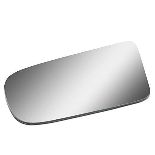 Driver/Left Side Door Rear View Mirror Glass Lens Replacement for 1987-1993 Ford Mustang ()