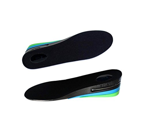 SOL3 - Men's Premium Height-Increase Insole Shoe Lift Inserts - Taller Insole