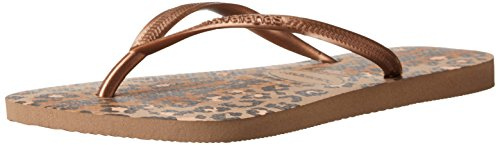 havaianas-womens-slim-animals-sandal-flip-flop-rose-gold-37-br-7-8-w-us