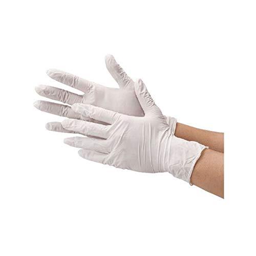川西工業 ニトリル使い切り手袋 ホワイトSS 10箱 生活用品 インテリア 雑貨 日用雑貨 手袋 14067381 [並行輸入品] B07PZYNBXY