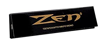 Outontrip ZEN BLACK King Size Slim 32 leaves Rolling Papers