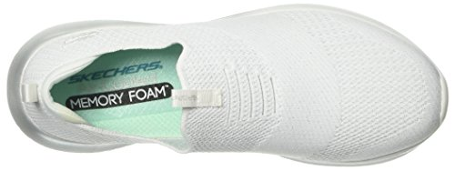 Metamorphic Flex Weiß Textil Skechers silber Ultra Uc8YwqnTzn