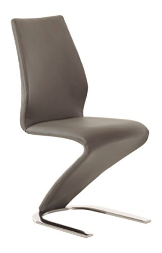Casabianca Furniture Boulevard Collection Dining Chair, Gray