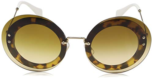 mu 10rs Sonnenbrille Reveal browngradient light Miu Marron Havana C8Fqx1Wt