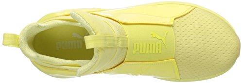 Puma Donne Forte Maglia Luminoso Cross-trainer Scarpa Elfin Giallo