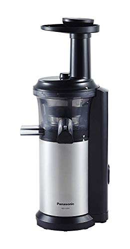 Panasonic MJ-L500 Masticating Slow Juicer - with Compact Easy Clean Frozen Treat Attachment (Renewed)