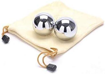 フィットネスボール、保定フィットネスアイアンボール、ソリッドスチールボール、中年や高齢者フィットネスボール、スポーツフィンガーボール45MMを再生するには (サイズ : 5.5cm)
