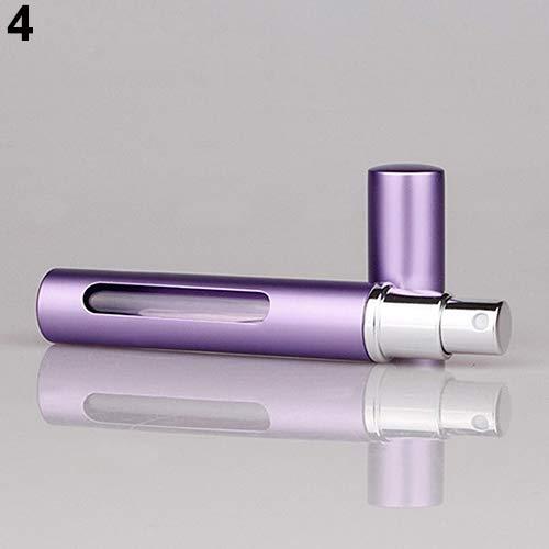 hwangli Mini Portable 5ml Glass Perfume Bottles Perfume Spray Pump Bottle Black by hwangli (Image #5)