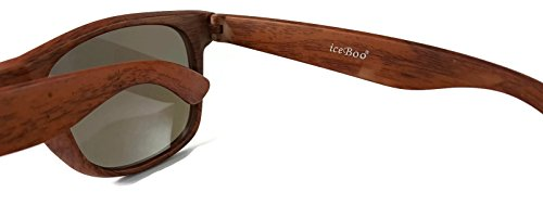 Wood pattern iceBoo soleil Homme Lunettes grain W7001 de na4qRT