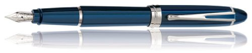 Aurora Ipsilon De Luxe Fountain Pen Blue Resin ()