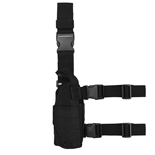 Tactical Holster/Leg Holster/Drop Leg Bag/Gun Holster,Freehawk Military Adjustable Right Leg Handgun Holster...