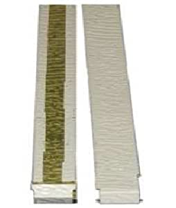 9 Quot Aluminum Textured Joint Covers For Hardboard Siding