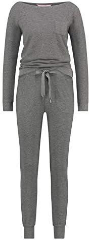 HUNKEMÖLLER Pyjamaset, Waffelstoff