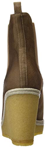 Nut Boots Gadea Nut Brown Ankle Women's Silk 41283 wnqOY7g