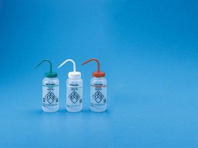 HS120254 - Self-Venting Wash Bottle: Methanol - Safety