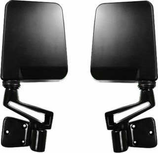 Jeep Wrangler Side View Door Mirrors Set of 2