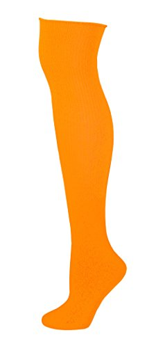 Knee High Socks - Neon Orange