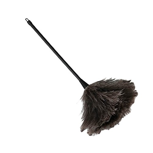 Generous Mini Natural Feather Duster Brush Wood Handle Anti-static Cleaning Tool Household Furniturer Car Dust Cleaner Dusters Household Cleaning