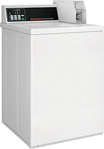 """Speed Queen SWNNC2SP115TW01 26""""Inch Commercial Top Load Washer with 3.26 cu. ft. Capacity, 710 RPM, Quantum Controls in White"""