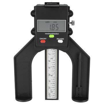 80mm Digital Gauge Feet Height Caliper for Woodworking Measuring - Measurement & Analysis Instruments Digital Calipers - 1 x Mini Digital Height Gauge