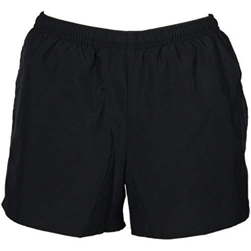 ASICS Womens Pocketed Short Cross Training Athletic Shorts Black