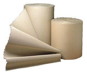 600mm x 10M Corrugated Cardboard Paper Roll - 10 Metres