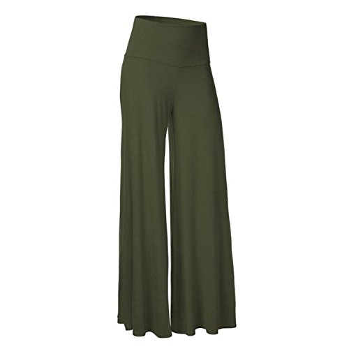 Huntty Dance Pants Leg Long Trousers Plus Size F -