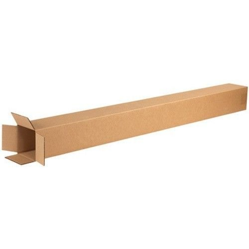 RetailSource Corrugated Boxes, 6'' x 6'' x 48'', Brown