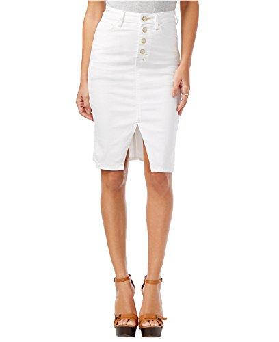 95d95a974e8 GUESS Women s Luzy Button-Front Denim Skirt (24