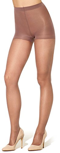Silkies Women's Ultra Total Leg Control Support Pantyhose -Xqueen Taupe (Support Hosiery Womens)