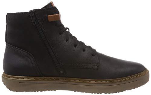 Sneaker Alto Seibel kombi Nero Collo 101 Uomo 27 A schwarz Josef Quentin YtHwOB