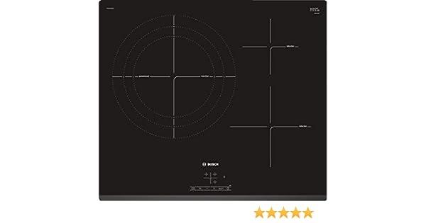 Bosch Serie 4 PID631BB3E Integrado Con - Placa (Integrado, Con placa de inducción, Cerámico, Negro, 1400 W, Alrededor)