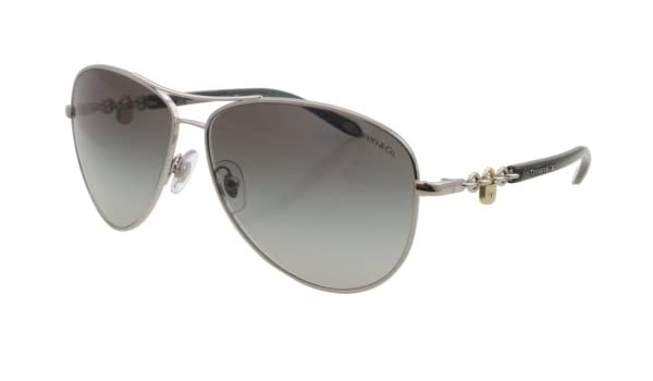 627497d3e90 Tiffany   Co. TF 3034 6001 3C Silver   Grey Sunglasses  Amazon.ca  Clothing    Accessories