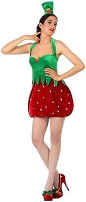 Atosa-10521 Disfraz Fresa, color rojo, Medium/Large (10521 ...