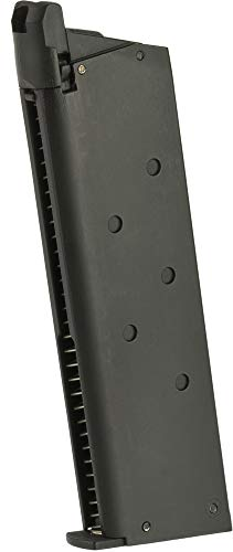 Evike Matrix/Army 25 Round Magazine for Tokyo Marui Army KJW Matrix Gas Power 1911 Detonic Airsoft Pistols - Black