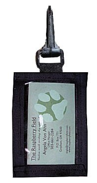 ID Holder Clip-On -Vertical-