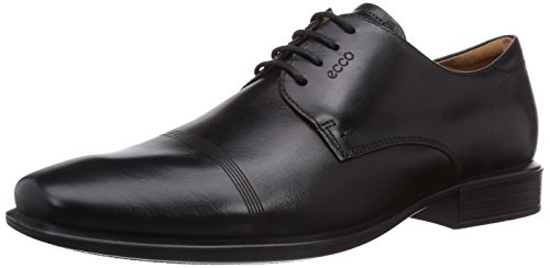 Cairo ECCO Black01001 Uomo Stringate Scarpe Nero aqx0UHf