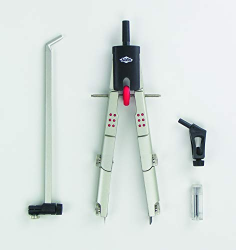 Alvin 205V 6 Professional Speed-Bow Compass Beam Bar Set