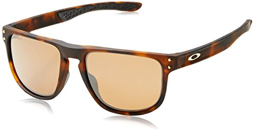 Oakley Men's Holbrook R Polarized Iridium Square Sunglasses, Matte Dark Tortoise Brown , 55.0 ()