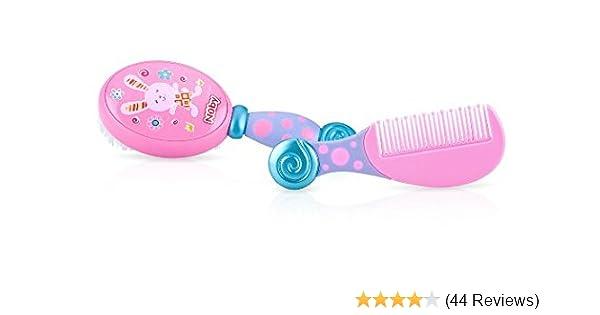 Nuby Comb and Brush Set Aqua