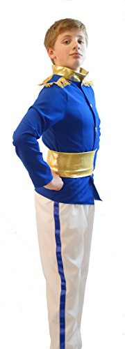 Stage-Pantomime-Fancy Dress-World Book Day-Cinderella PRINCE CHARMING Costume - All Ages/Sizes (TEEN) ()