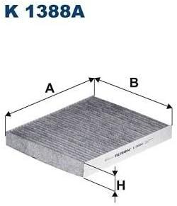 Innenraumluft K 1388A FILTRON Filter