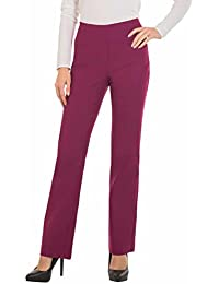 Bootcut Dress Pants Women -Stretch Comfy Work Pull on...