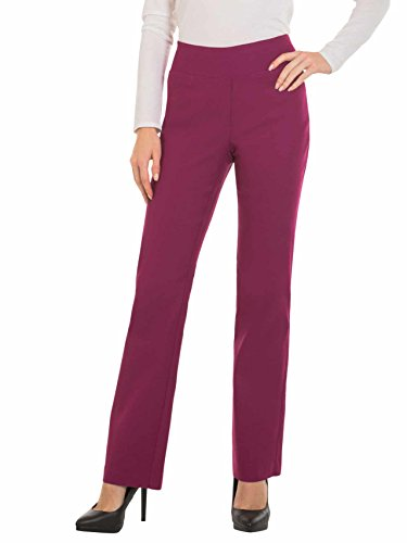 Red Hanger Womens Bootcut Stretch Dress Pants - Comfy Pull On Style, - Pants Cropped Dress